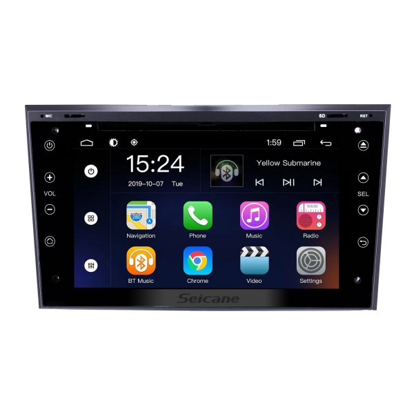 Android 9.0 7 inch for 2005 2006 2007-2011 Opel Astra/Antara/Vectra/Corsa/Zafira Radio HD Touchscreen GPS Navigation System with Bluetooth support Carplay DVR