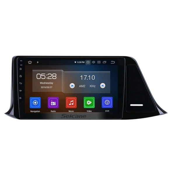 OEM HD Touchscreen 9 inch Android 10.0 Radio for 2016 2017 2018 Toyota C-HR GPS Navigation Head unit USB Bluetooth SWC support 4G WIFI DVR Digital TV 1080P Video Carplay