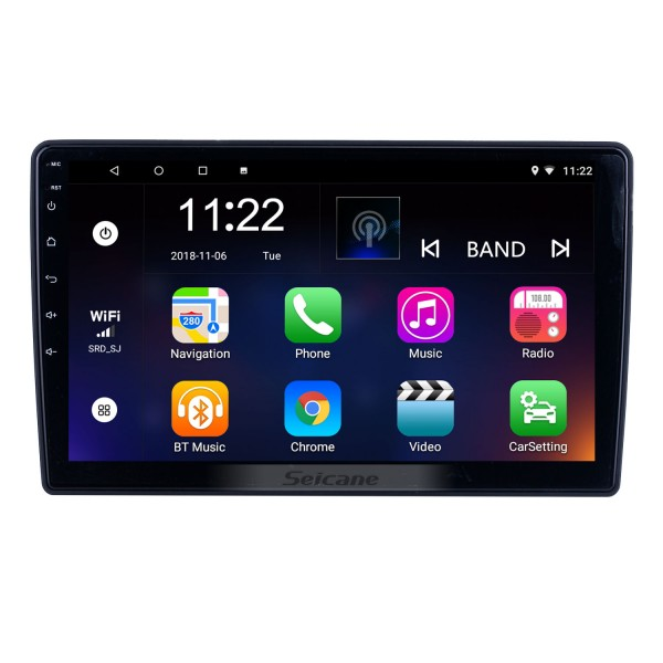 For 2012 Honda Brio Radio 10.1 inch Android 10.0 HD Touchscreen GPS Navigation System with Bluetooth support Carplay OBD2