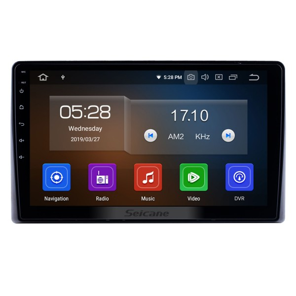 10.1 inch For 2019 Toyota Previa Radio Android 10.0 GPS Navigation System Bluetooth HD Touchscreen Carplay support OBD2