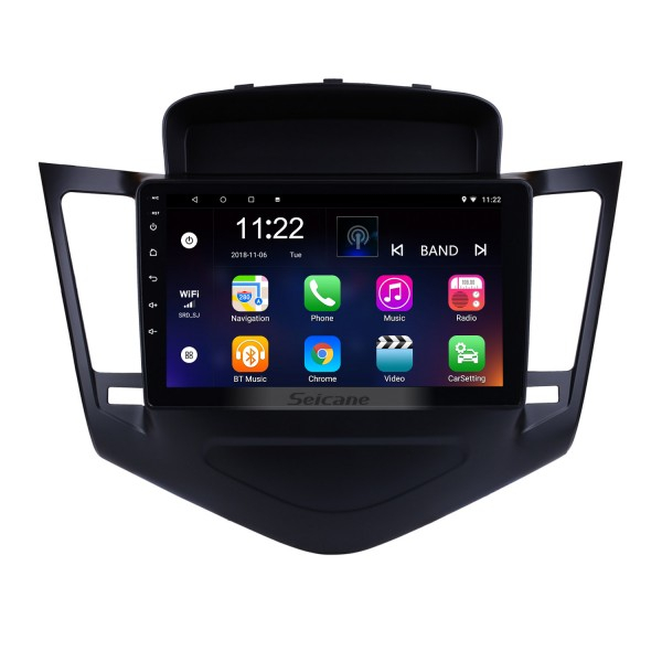 HD Touchscreen 9 inch Android 8.1 GPS Navigation Radio for Chevrolet Cruze  2013-2015 with Bluetooth USB WIFI AUX support DVR Carplay SWC 3G Backup camera