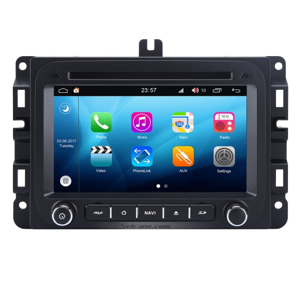 Android 8.0 2014 2015 2016 Jeep Renegade  Replacement Stereo System GPS Radio Navigation 3G WiFi DVD Bluetooth USB SD