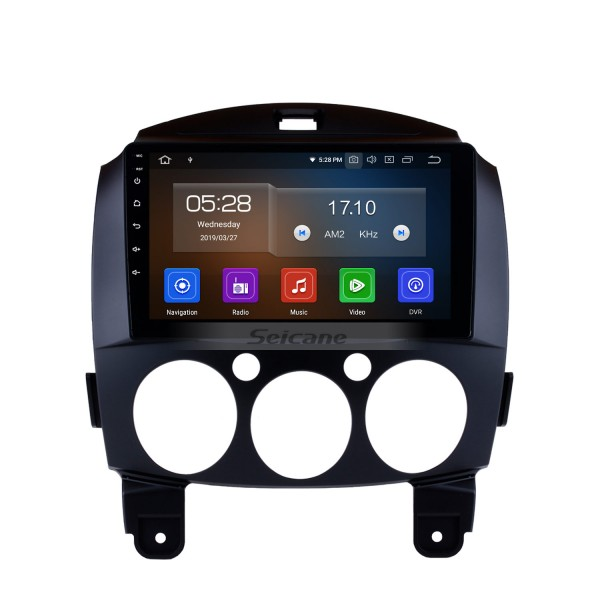16G Quad-core Android 5.1.1 OEM GPS navigation system for 2010 2011 2012 Mazda 2 with Radio DVD player Mirror link GPS HD touch screen OBD DVR Bluetooth TV USB SD 3G WIFI Rear view camera IPOD