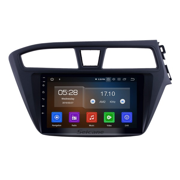 Hot Selling Android 10.0 9 inch 2014-2017 Hyundai i20 RHD Radio with GPS Navigation Touchscreen Carplay WIFI Bluetooth USB support Mirror Link 1080P