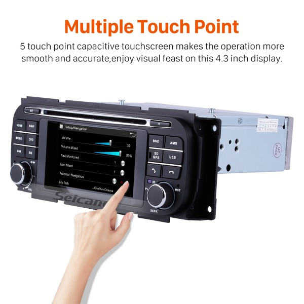 Car Stereo DVD Player Radio For 2002-2008 Dodge Stratus Viper Support 3G WiFi TV Bluetooth GPS Navigation System Touch Screen TPMS DVR OBD Mirror Link Rearview Camera Video