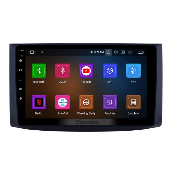 9 inch Android 9.0 GPS Navigation Radio for 2006-2019 chevy Chevrolet Aveo/Lova/Captiva/Epica/RAVON Nexia R3/Gentra with HD Touchscreen Carplay AUX Bluetooth support 1080P