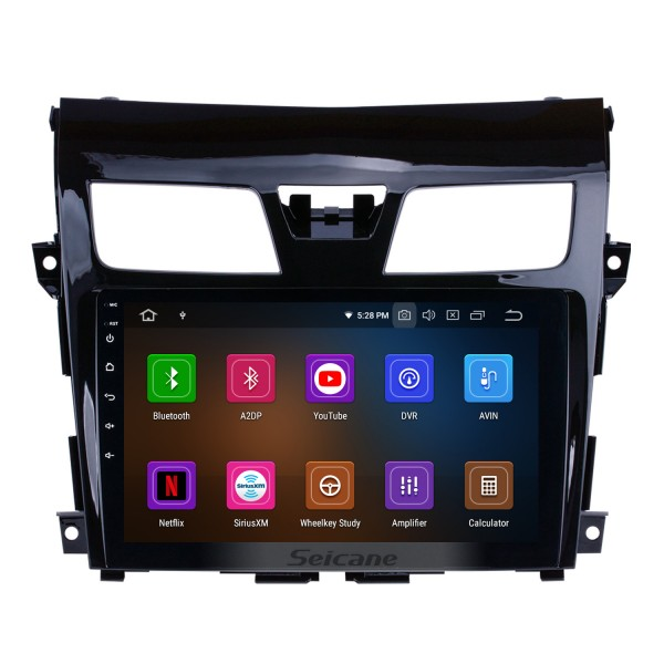 9 inch  Android 10.0 2013 2014 2015 2016 2017 NISSAN TEANA Bluetooth GPS Navigation System with HDTouch Screen 3G WiFi  AUX Steering Wheel Control USB 1080P support TPMS DVR OBDII Rear Camera