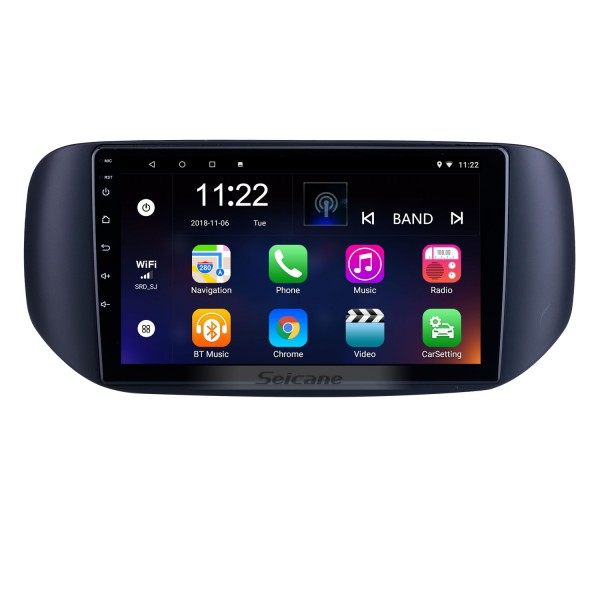 OEM Android 10.0 for 2018 Tata Hexa RHD Radio with Bluetooth 9 inch HD Touchscreen GPS Navigation System support Carplay