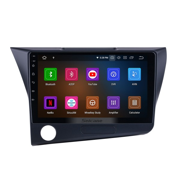 OEM Android 10.0 for 2010 Honda CRZ LHD Radio 9 inch HD Touchscreen with Bluetooth GPS Navigation System Carplay support DSP
