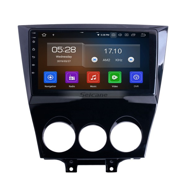 OEM 9 inch Android 10.0 for 2011 Mazda RX8 Radio with Bluetooth WIFI HD Touchscreen GPS Navigation System Carplay support DVR
