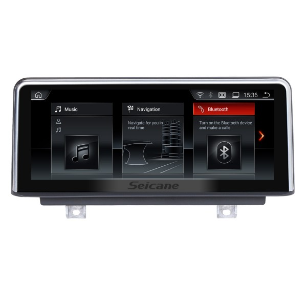 8.8 Inch Android 8.1 2017 BMW 2 Series Car Stereo Radio Head Unit GPS Navigation System Bluetooth Support USB WIFI Rearview Camera Steering Wheel Control