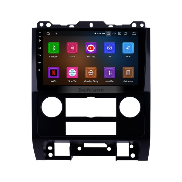 9 inch Android 9.0 2007-2012 Ford Escape HD Touchscreen GPS Navigation Radio with USB Carplay Bluetooth WIFI support 4G 1080P Video DVD Player
