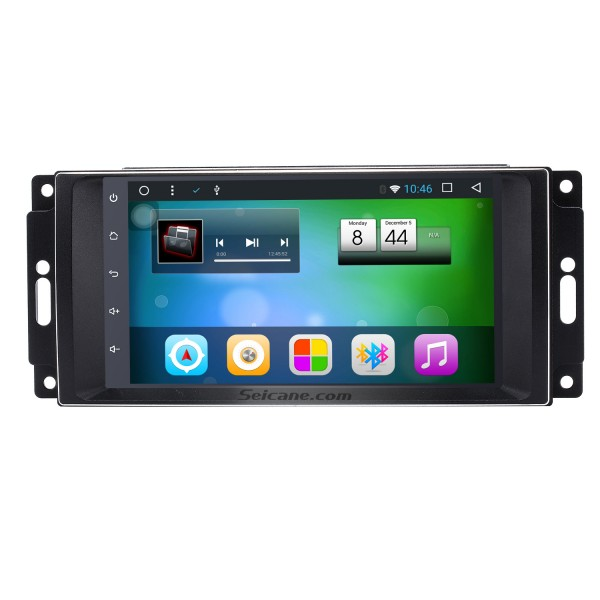 2008 2009 2010 Jeep Commander Android 8.1 HD touchscreen Radio GPS navigation system with DVD player Bluetooth Mirror link WIFI Steering Wheel Control 1080P video