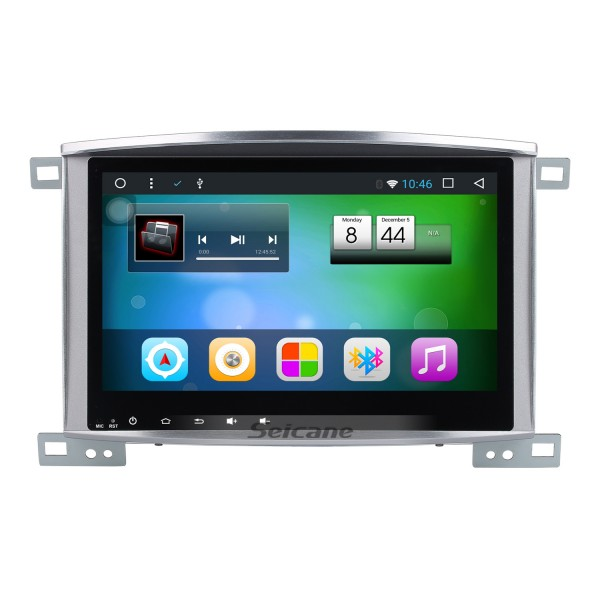 10.1 Inch 1998-2007 Lexus LX470 LX570 Android 7.1 Capacitive Touch Screen Radio GPS Navigation system with Bluetooth TPMS DVR OBD II Rear camera AUX USB SD WiFi Steering Wheel Control Video
