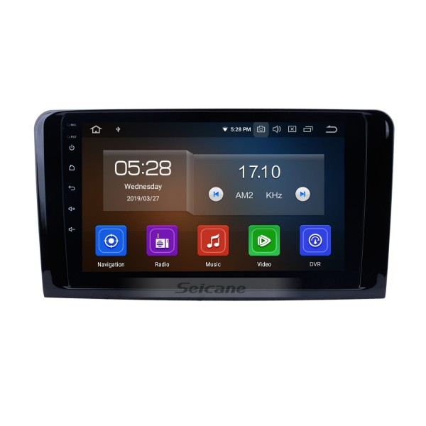Android 9.0 2005-2012 Mercedes Benz GL Class X164 GL300 GL320 GL350 GL420 GL450 GL500 GL550 ML Class W164 ML300 ML350 ML450 ML500  Autoradio Navigation Car Audio System 1024*600 Multi-touch Capacitive Screen Radio RDS Blutooth Music DVD 4G WiFi Mirror Lin