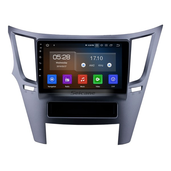All in one Android 10.0 9 inch 2010-2014 Subaru Outback/Legacy LHD Radio with Bluetooth USB FM RDS support Mirror Link DVD Player 1080P Video OBD SWC TPMS