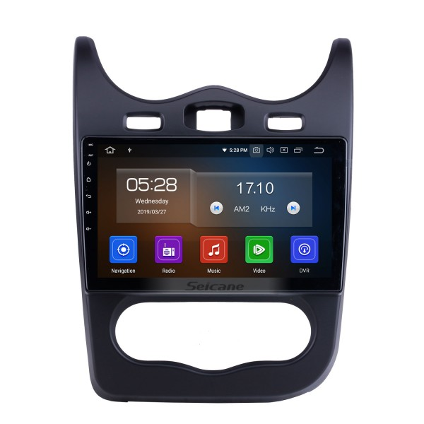 Android 10.0 For 2014 Renault Sandero Radio 10.1 inch GPS Navigation System Bluetooth HD Touchscreen Carplay support SWC
