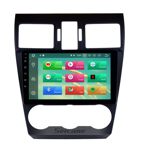 9 inch HD Android 5.1.1 Radio Capacitive Touch Screen for 2014 2015 2016 Subaru Forester  Support 3G WiFi Bluetooth GPS Navigation system TPMS DAB DVR OBD II AUX Headrest Monitor Control Video Rear camera USB SD