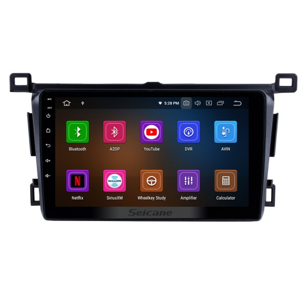2013-2018 Toyota RAV4 Left hand driving Android 10.0 9 inch GPS Navigation HD Touchscreen Radio WIFI Bluetooth USB AUX support DVD Player SWC 1080P Rearview Camera OBD TPMS Carplay