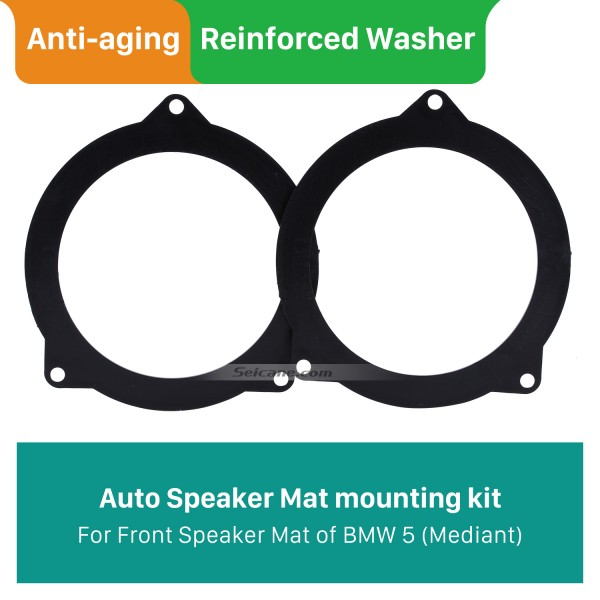 Front Modification Bracket Mediant Speaker Mat for BMW 5