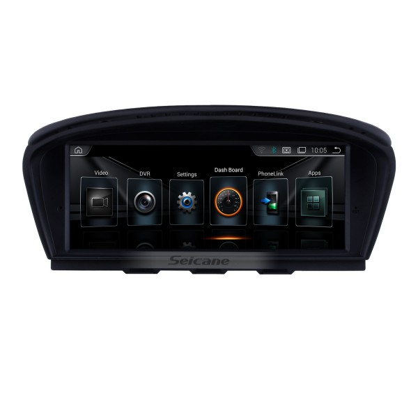 8.8 inch Android 8.1 Touchscreen Radio for 2009-2012 BMW 3 Series E90 E91 E92 E93 316i 2005-2010 BMW 5 E60 E61 E62 CCC GPS Navigation Head unit Bluetooth Mirror Link