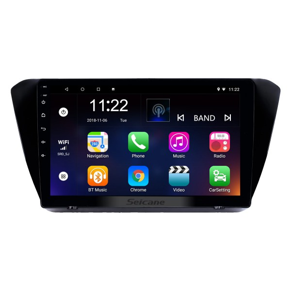 10.1 inch Android 8.1 GPS Navigation Radio for 2015-2018 Skoda Superb with HD Touchscreen Bluetooth USB AUX support Carplay TPMS