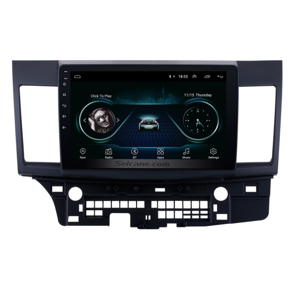 10.1 inch HD Touch Screen for 2008-2015 Mitsubishi Lancer-ex Radio Android 8.1 GPS Navigation with WiFi Bluetooth Music USB support Carplay Mirror Link TPMS DVR