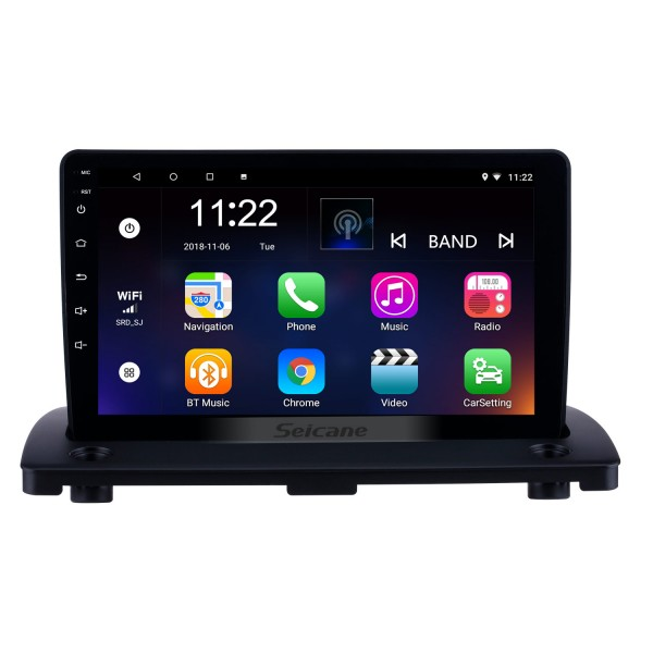 HD Touchscreen for 2004 2005 2006-2014 Volvo XC90 Android 8.1 9 inch Radio GPS Navigation System with Bluetooth WIFI USB support Carplay Digital TV