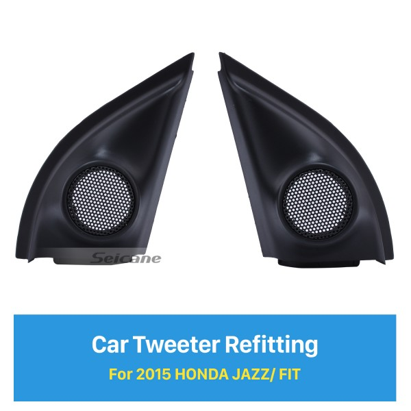 Audio Door Angle Gums for 2015 Honda Jazz/Fit Car Horn Refit Tweeter Refitting Boxes Stereo Installation 2PCS