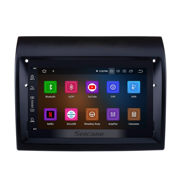 2007-2016 Fiat Ducato Aftermarket 7 inch Android 9.0 Radio DVD Multimedia Player GPS Navigation System Upgrate Headunit with Bluetooth Music 3G Wifi Mirror Link Steering Wheel Control Backup Camera DVR OBD2 DAB+