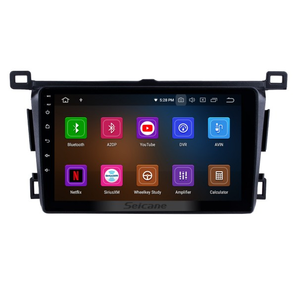 9 inch 2013-2018 Toyota RAV4 RHD Android 10.0 Car Stereo Bluetooth GPS Navigation System support DVD Player TV Backup Camera iPod iPhone USB AUX Steering Wheel Control