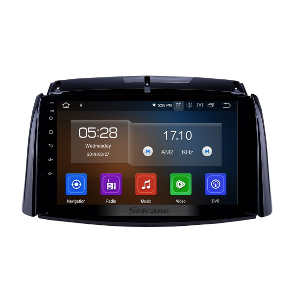9 inch Android 9.0 GPS Navigation Radio for 2009-2016 Renault Koleos with HD Touchscreen Carplay AUX Bluetooth support 1080P