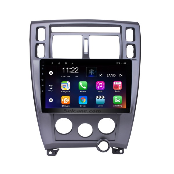 10.1 Inch Android 8.1 HD Touchscreen Radio For 2006-2013 Hyundai Tucson LHD GPS Navigation Car Stereo Bluetooth Support Mirror Link OBD2 3G WiFi DVR 1080P Video Steering Wheel Control