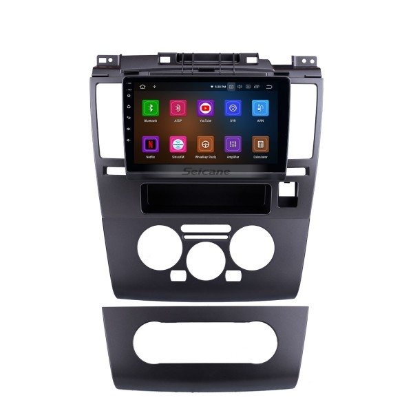 9 Inch HD Touchscreen Radio GPS Navigation Android 9.0 2005-2010 Nissan TIIDA Blueooth Music Car Stereo Aux USB DAB+ Steering Wheel Control 4G/3G WiFi