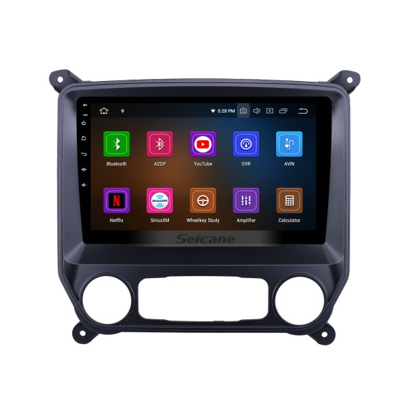 2014-2018 Chevy Chevrolet Colorado 10.1 inch Bleutooth Radio Android 9.0 GPS Navi HD Touchscreen Carplay Stereo support DVR DVD Player 4G WIFI