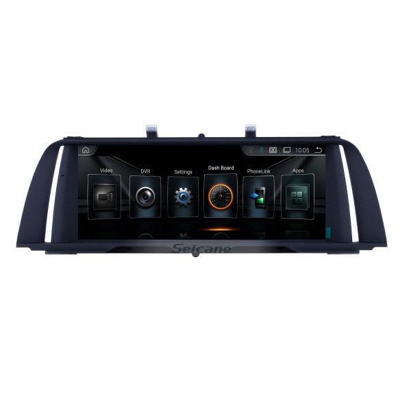 10.25 inch Android 9.0 HD Touchscreen GPS Navigation Radio For BMW 5 Series F10/F11(2013-2016) NBT with Bluetooth support SWC Carplay 1080P