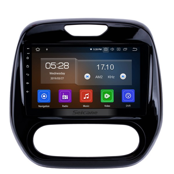 9 inch Quad-core Android 9.0 2011-2016 Renault Captur CLIO Samsung QM3 Manual A/C Aftermarket Radio GPS Navigation System OBD2 4G WIFI Bluetooth Mirror Link DVR 4G WIFI (Manual Air Conditioning)