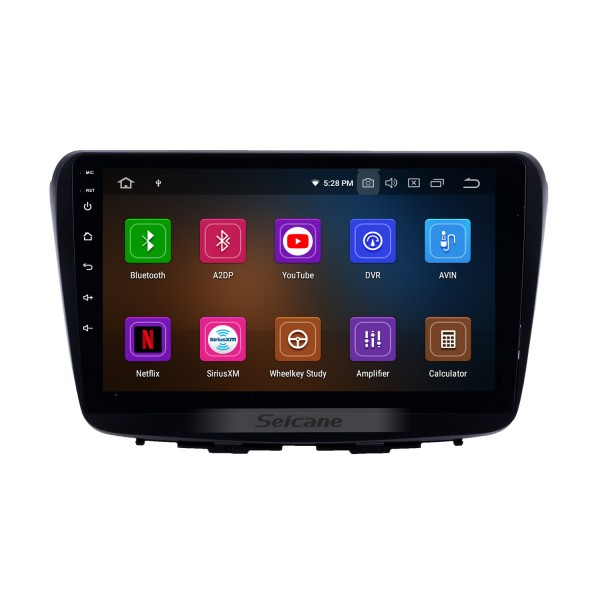 9 Inch Android 9.0 HD Touchscreen 2015-2017 Suzuki BALENO Car GPS Navigation System Auto Radio with WIFI Bluetooth music USB FM Support SWC Digital TV OBD2 DVR