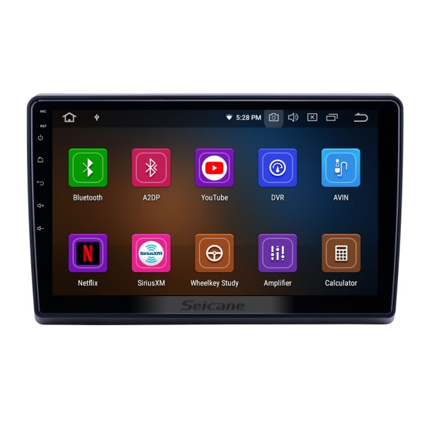 10.1 inch Android 9.0 Radio for 2009-2019 Ford New Transit Bluetooth WIFI HD Touchscreen GPS Navigation Carplay USB support TPMS DAB+
