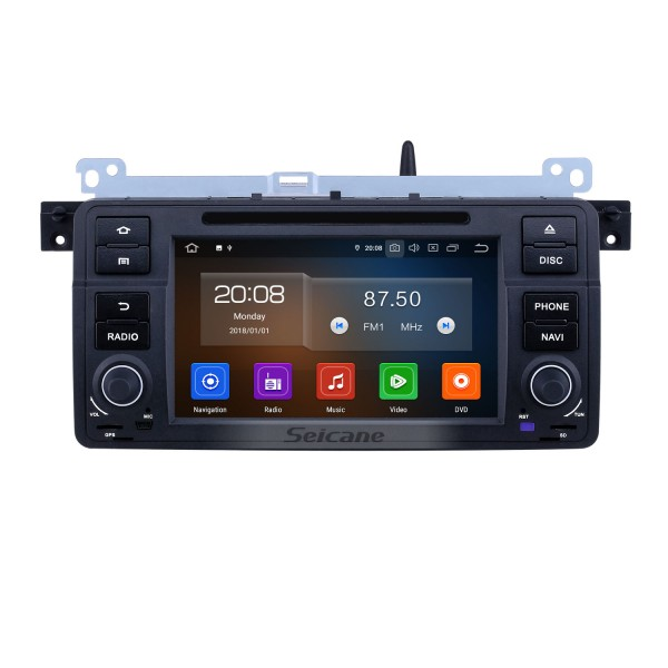 7 inch Android 9.0 GPS Navigation Radio for 1999-2004 Rover 75 with HD Touchscreen Carplay Bluetooth WIFI AUX support Mirror Link SWC 1080P Video