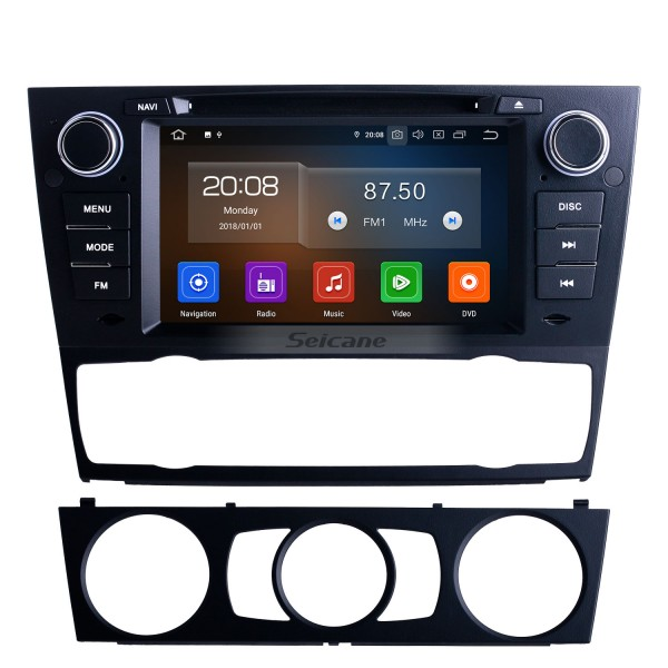 OEM 7 inch Android 10.0 for 2012 BMW 3 Series E90 Auto/Manual A/C Radio with Bluetooth HD Touchscreen GPS Navigation System Carplay support DVR