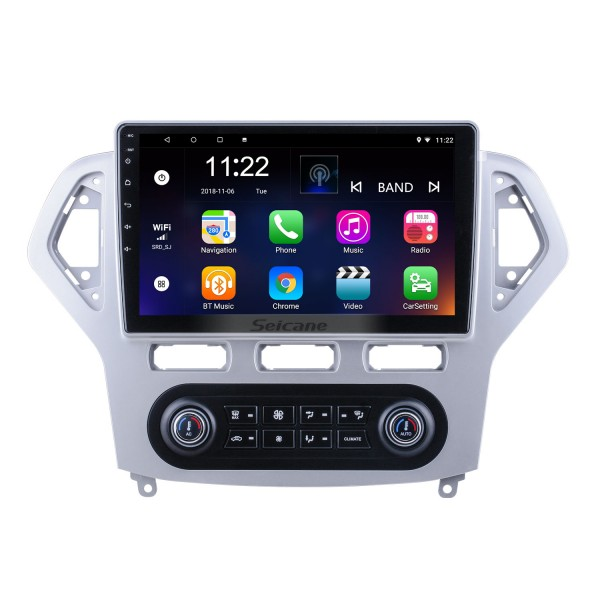 Android 10.0 HD Touchscreen 10.1 inch for 2007 2008 2009 2010 Ford Mondeo Auto A/C Radio GPS Navigation System with Bluetooth support Carplay