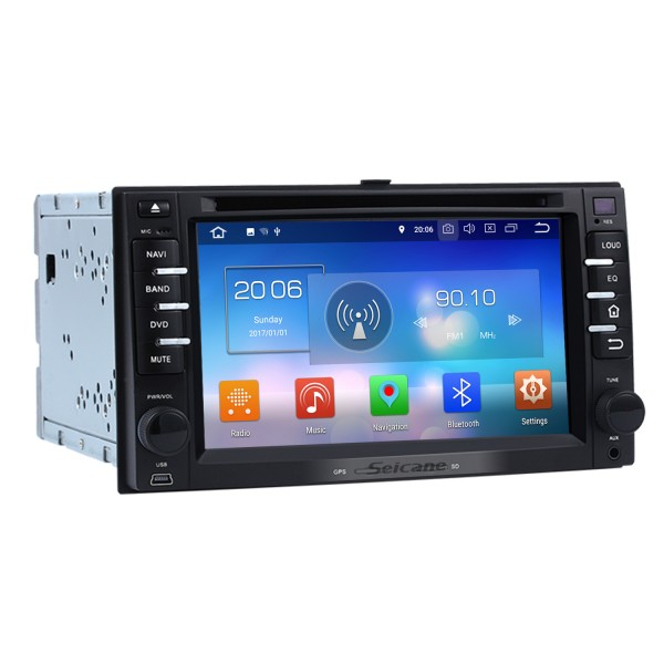 Android 8.0 Car DVD Player Radio GPS Navigation System For 2004-2010 Kia Sportage With TV tuner Remote Control Bluetooth Touch Screen