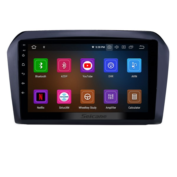 2013-2017 VW Volkswagen Jetta Android 9.0 9 inch GPS Navigation Radio Bluetooth HD Touchscreen USB Carplay support Digital TV