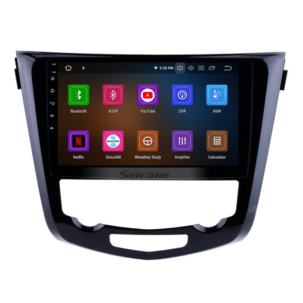 10.1 inch HD touchscreen Radio GPS Navigation Android 9.0 for 2014 2015 Nissan X-TRAIL Support Bluetooth TV USB OBD2 WIFI Video Mirror Link DVR Steering Wheel Control