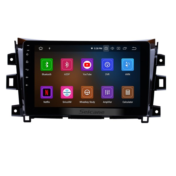 10.1 inch 2011-2016 Nissan NAVARA Android 9.0 Radio GPS Navigation Mirror link Touch Screen OBD2 DVR TV WIFI Bluetooth USB Carplay Rearview Camera 1080P SWC