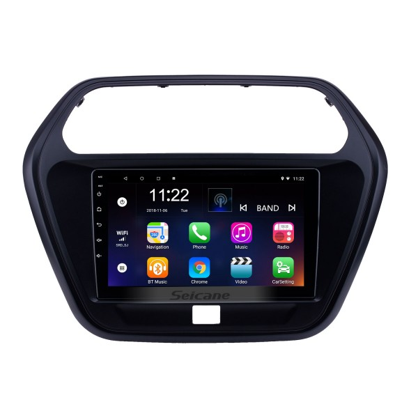 2015 Mahindra TUV300 Android 8.1 Touchscreen 9 inch Head Unit Bluetooth GPS Navigation Radio with AUX WIFI support OBD2 DVR SWC Carplay