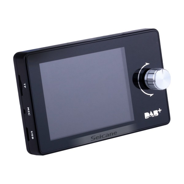 In-Car DAB/DAB+ Receiver Bluetooth Music Hands-Free USB/TF Music Adapter with 2.8 inch true color TFT-LCD screen
