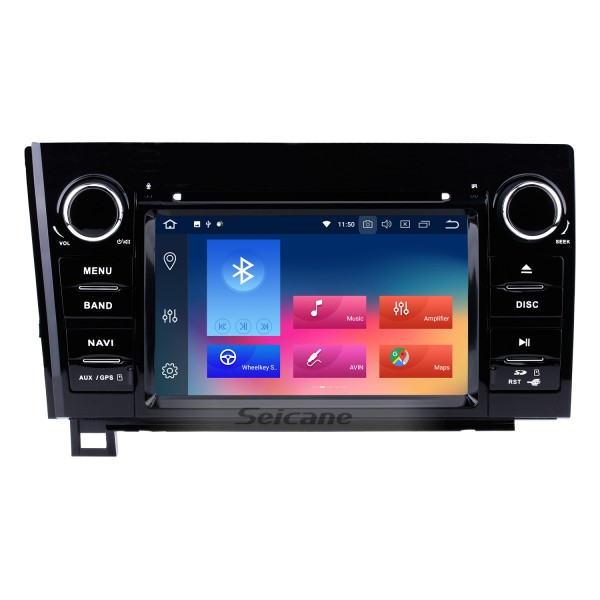 HD Touchscreen 7 inch Android 9.0 for 2008-2015 Toyota Sequoia/2006-2013 Tundra Radio GPS Navigation System with Bluetooth support Backup camera Carplay