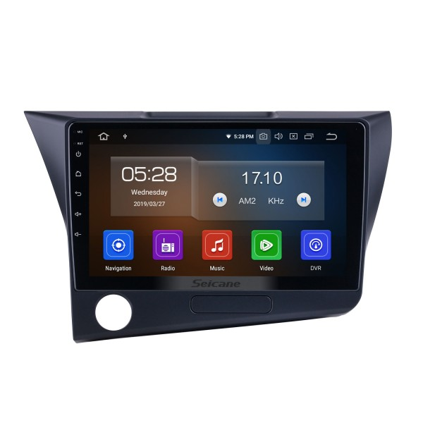 9 inch Android 10.0 For 2010 Honda CRZ LHD Radio GPS Navigation System with USB HD Touchscreen Bluetooth Carplay support OBD2 DVR